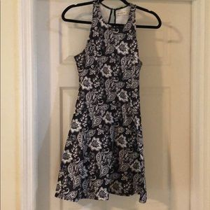 Abercrombie floral peplum dress